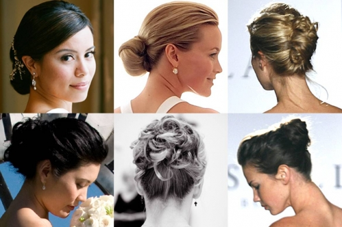 penteados para cabelos medios para festa de casamento 6