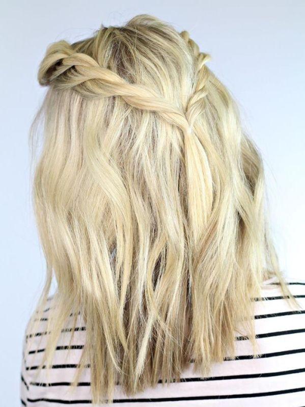 Cabelos - Penteados, cortes de cabelo curto, cabelos curtos, Penteados Simples para Formatura para Madrinha 3