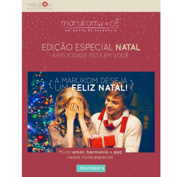 Insta Face Feliz Natal Marukom